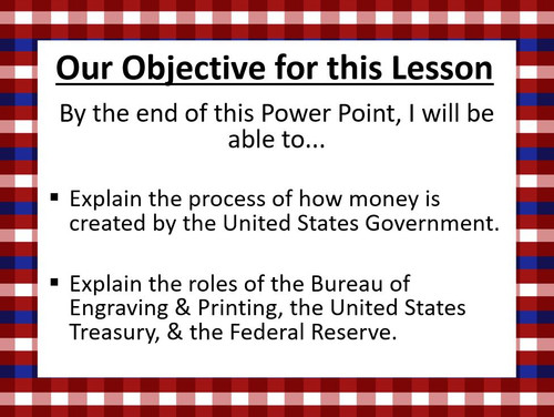 The United States Government: The Treasury, Federal Reserve, & Money Factory