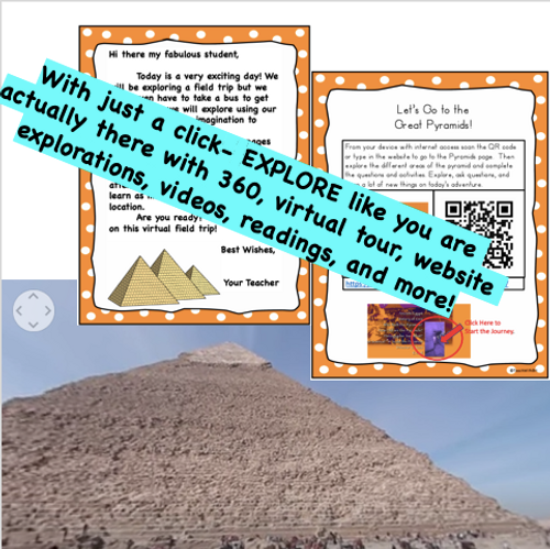 Google Drive Version- Virtual Field Trip to the Great Pyramids of Egypt