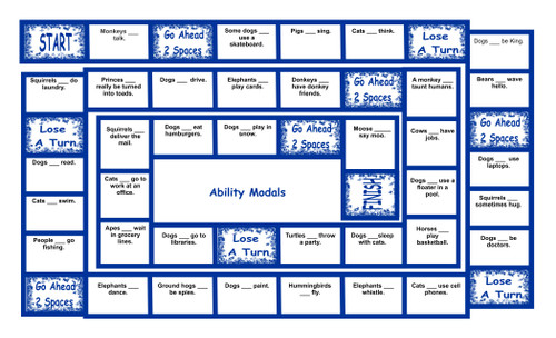 Ability Modals Legal Size Text Board Game