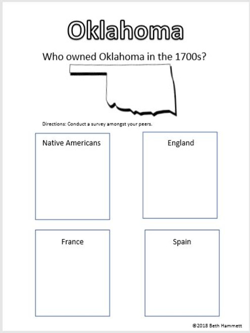 Oklahoma, The History of a State (1500-1799)