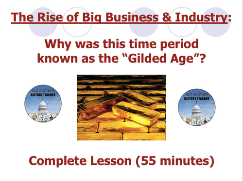 Rise of Big Business Lesson