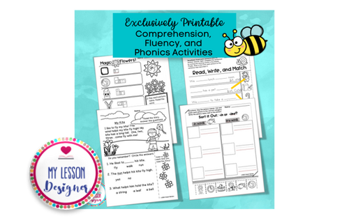 Exclusively Bundled-Google Slides Spring Literacy Distance Learning
