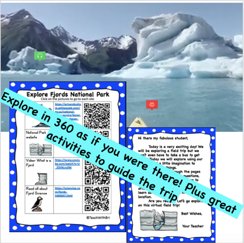 Virtual Field Trip to the Glaciers Explore Kenai Fjords Alaska National Park