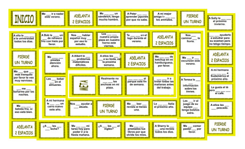 Gusta vs Me Gustaria Spanish Board Game