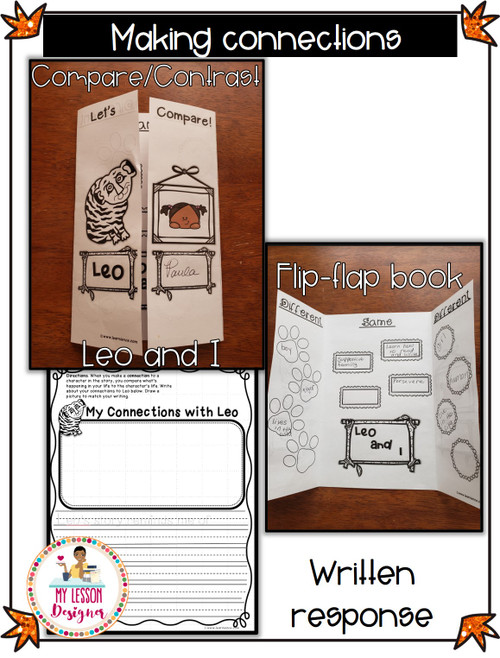 FREEBIE Leo the Late Bloomer Literacy Printable-Distance Learning