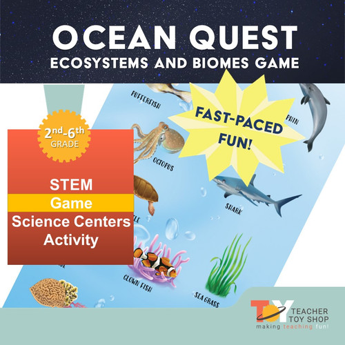 Ecosystems and Biomes Ocean Game