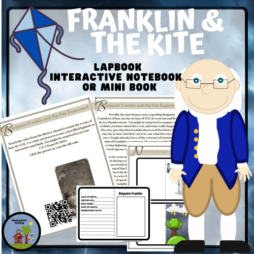Benjamin Franklin and the Kite - National Electricity Day