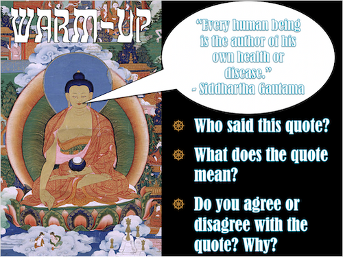 Origins of Buddhism PowerPoint
