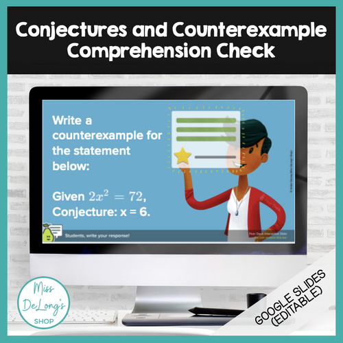 Conjectures and Counterexamples Comprehension Check
