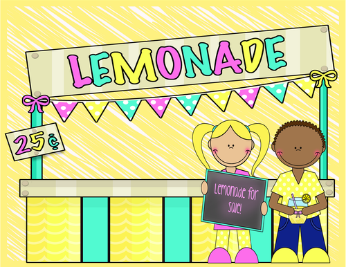 Sight Word Game - Lemonade Stand