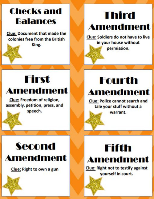 Bill of Rights and Principles of Government Heads up!