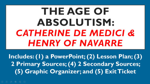 Age of Absolutism: The Foundations of Absolutism in France