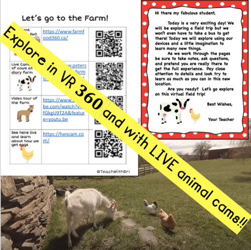 Google Version- Virtual Field Trip to the Farm