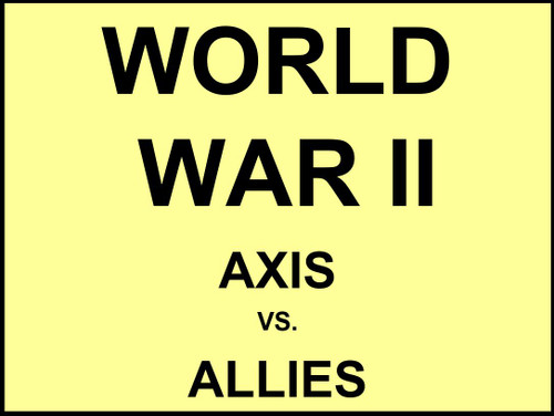 Axis vs Allies - FREE