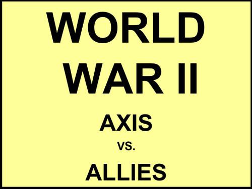 Axis vs Allies - FREE
