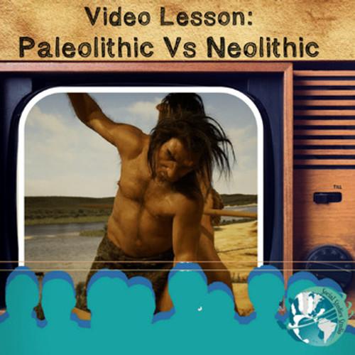 paleolithic vs neolithic