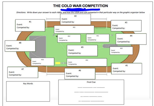 Cold War Break In To History Activity