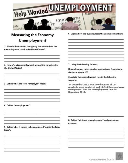 Economic Indicators - The Unemployment Rate