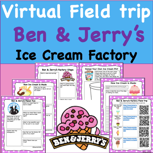 Virtual Field Trip to the Ben & Jerry's Ice Cream Factory