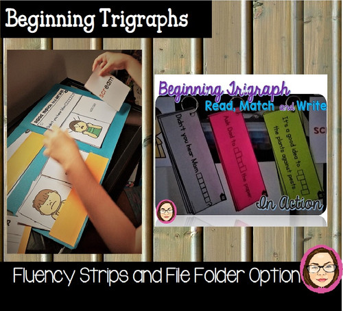 IN ACTION: BEGINNING TRIGRAPHS: READ, WRITE AND MATCH PRINT