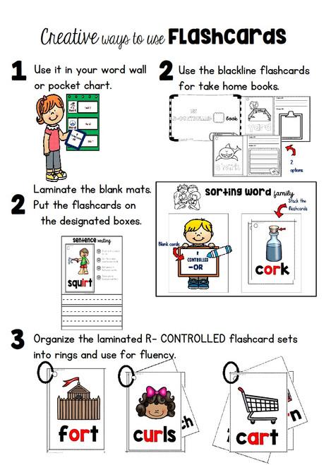 Creative Ways to Use Flashcards