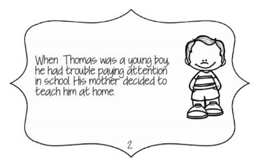 Thomas Edison: First Grade