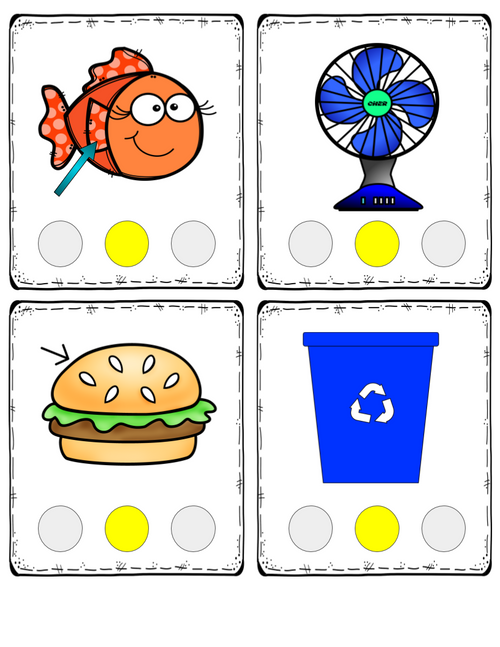 Middle Sound Substitution: Printable Card Pack for Phonemic Awareness