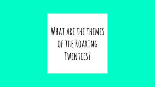 Roaring Twenties EOC Review