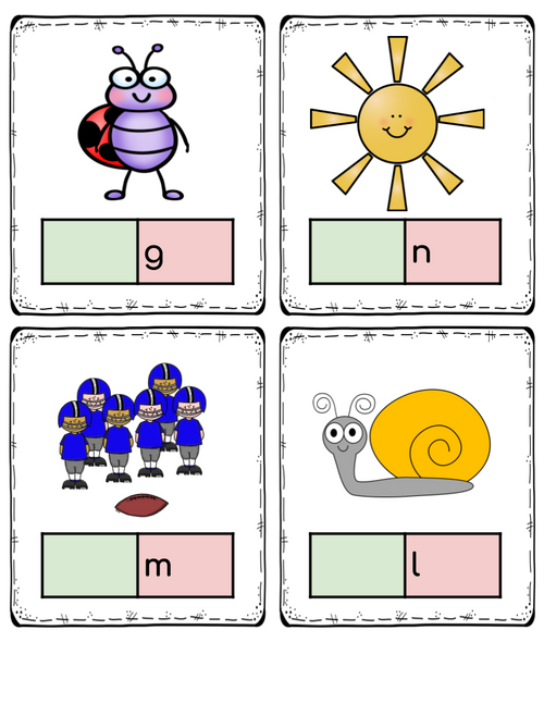Final Sound Deletion: Printable Card Pack for Phonemic Awareness
