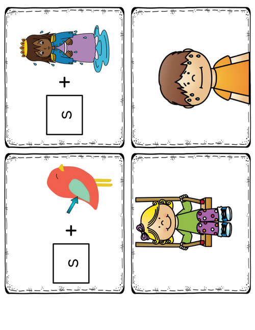 Initial Phoneme Deletion from a Blend: Printable Pack for Phonemic Awareness