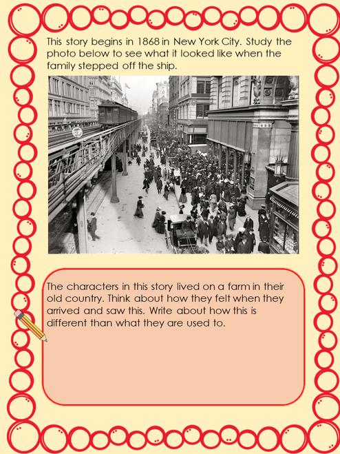 The Long Way Westward Digital Novel Study in Google Slides