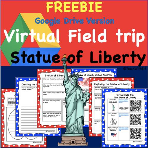 Copy of FREEBIE-Digital Version - Statue of Liberty Virtual Field Trip Student Activities