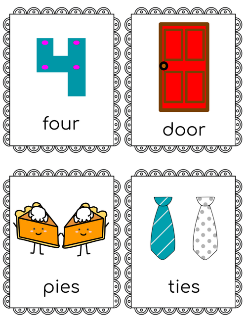 Initial Phoneme Substitution: Printable Picture Card Pack for Phonemic Awareness