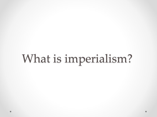 U.S. Imperialism EOC Review