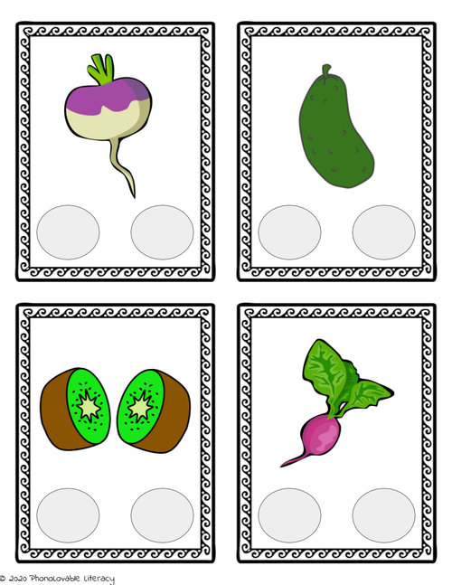 Two Syllable Words: Syllable Deletion Printable Pack for Phonological Awareness