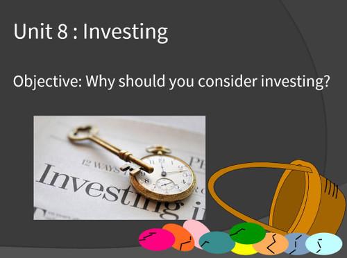 Investing Unit (9-12 days)