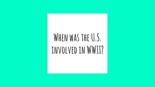 World War II STAAR EOC Review
