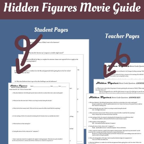 Hidden Figures (2017) Movie Guide & Primary Source Analysis