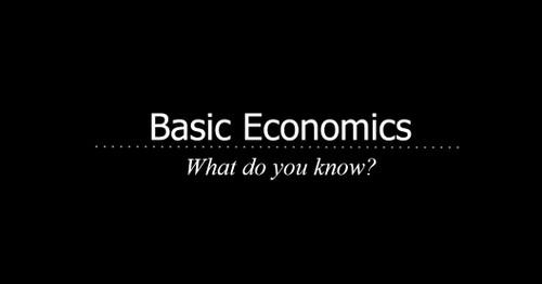Fundamentals of Economics Unit
