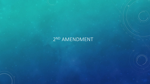 What's My Amendment? STAAR EOC Review