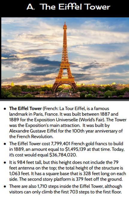European Landmark Facts