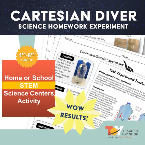 Cartesian Diver Buoyancy and Density STEM Experiment