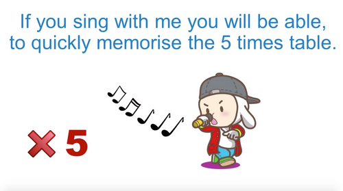 '5 TIMES TABLE' ~ Curriculum Song Video (FREE)