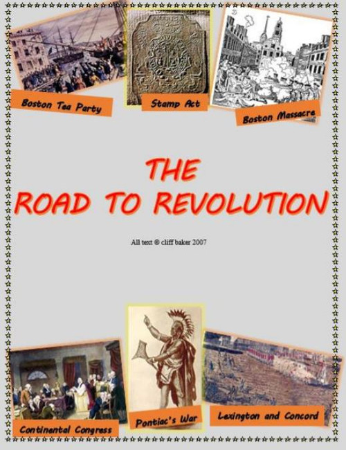 The Road to Revolution - supplemental text
