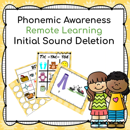 Distance Learning Initial Sound Deletion for Phonemic Awareness