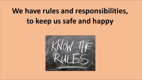 'OUR CLASS RULES ~ OK!' ~ Curriculum Song Video