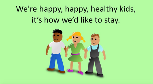 'HEALTHY KIDS' (Grades K-7) ~ Curriculum Song Video