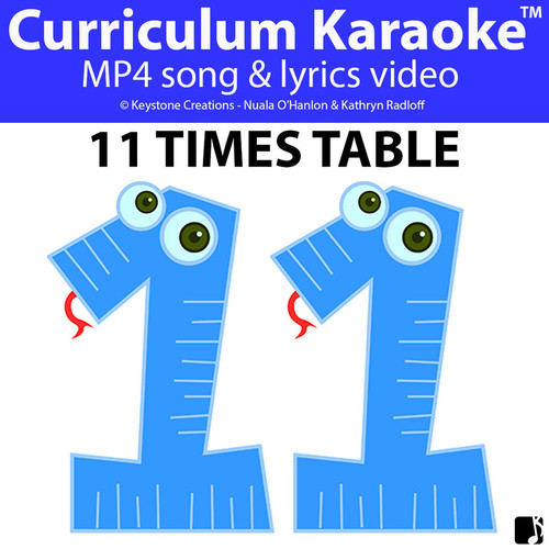 '11 TIMES TABLE' ~ Curriculum Song Video