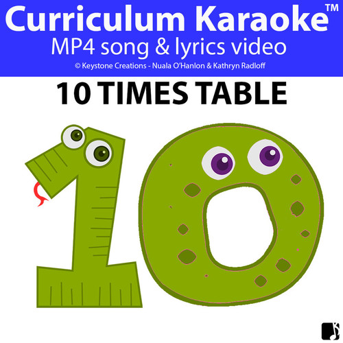 '10 TIMES TABLE' ~ Curriculum Song Video