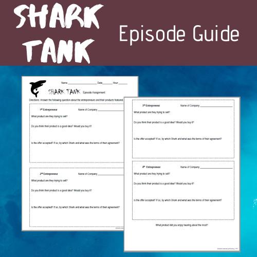 Shark Tank Episode Guide